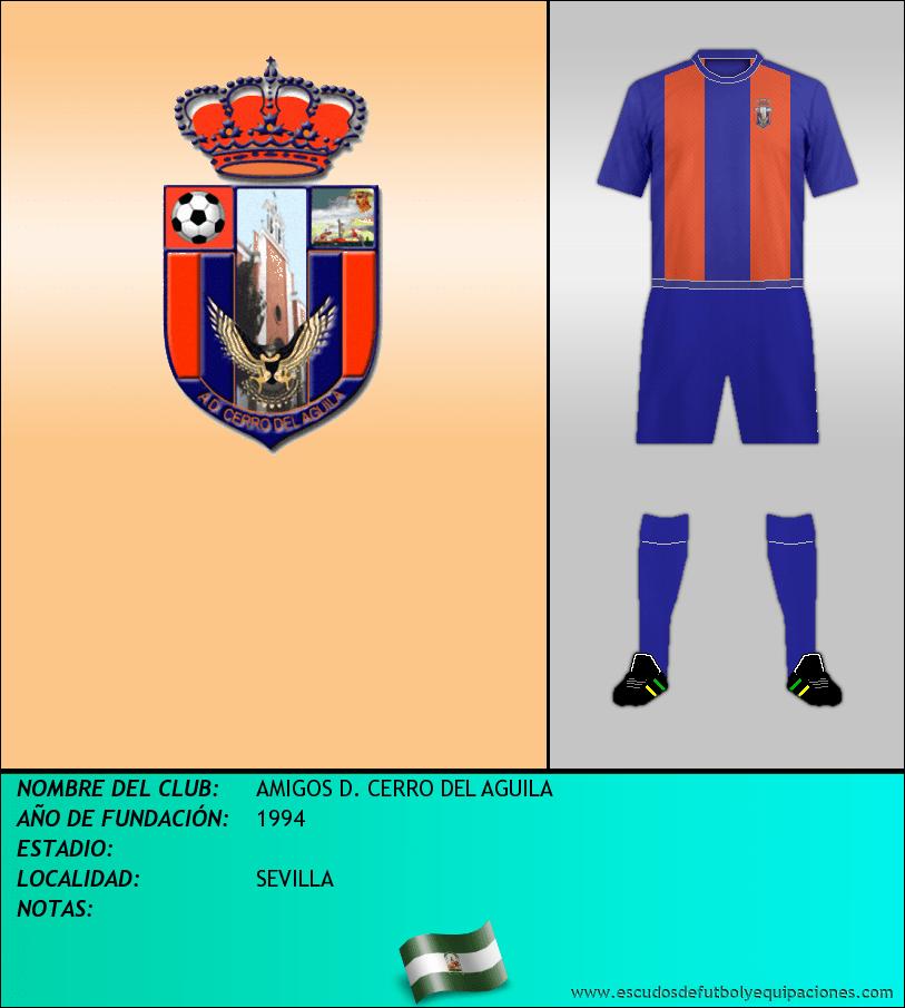 Escudo de AMIGOS D. CERRO DEL AGUILA