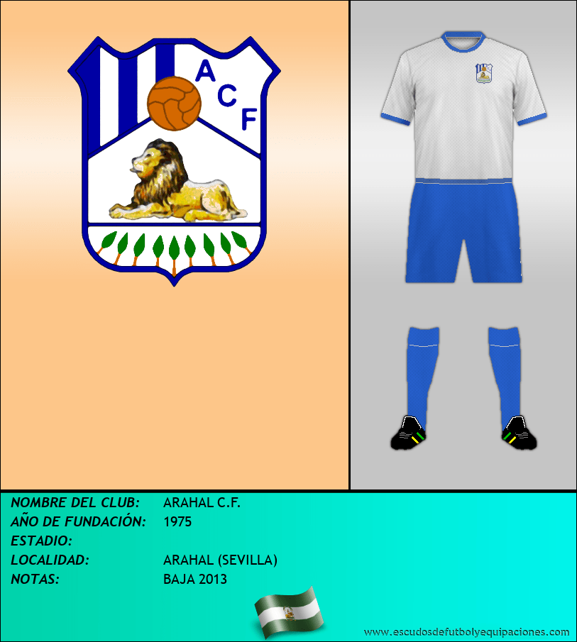 Escudo de ARAHAL C.F.
