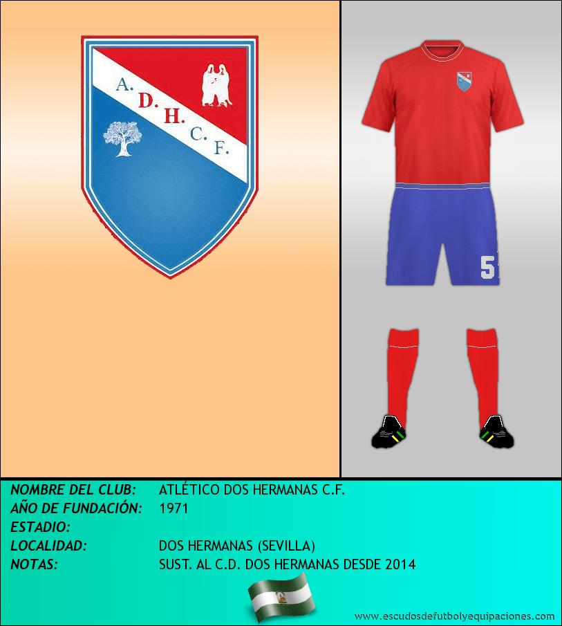 Escudo de ATLÉTICO DOS HERMANAS C.F.