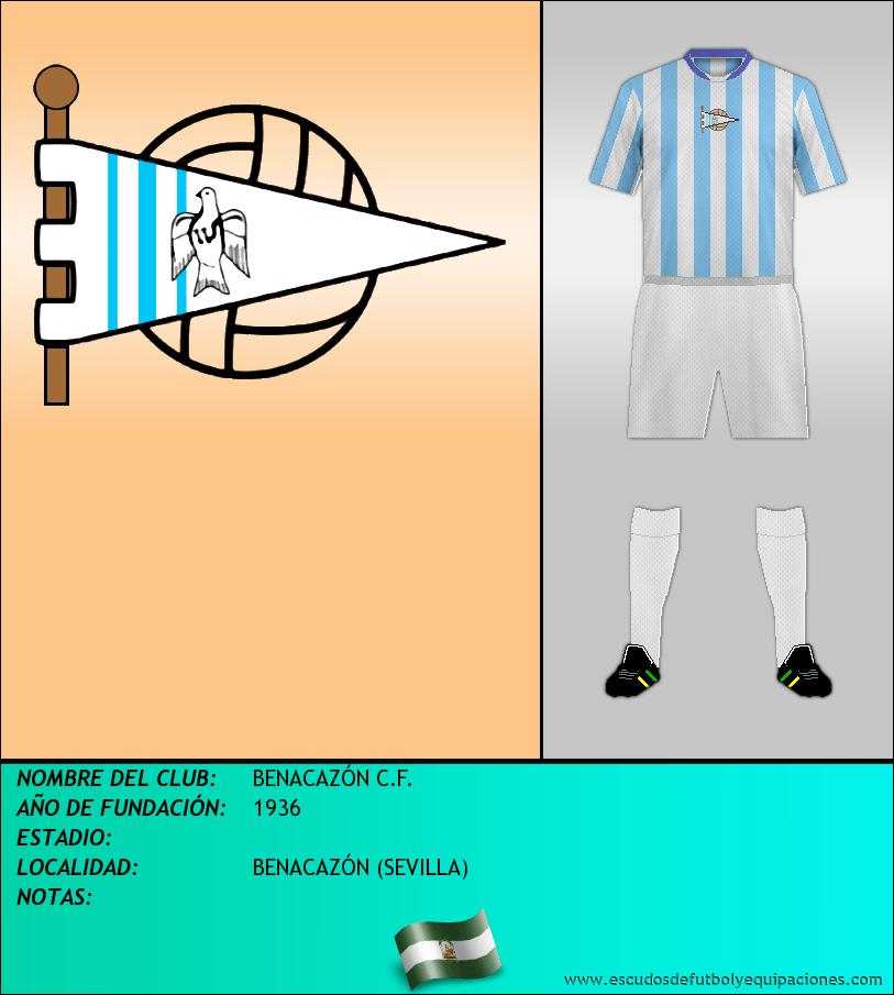 Escudo de BENACAZÓN C.F.