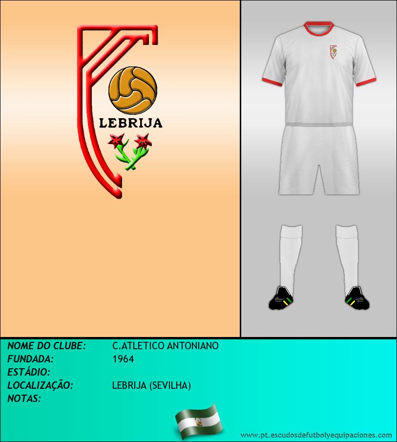 Escudo de C.ATLETICO ANTONIANO