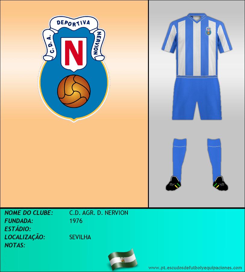Escudo de C.D. AGR. D. NERVION