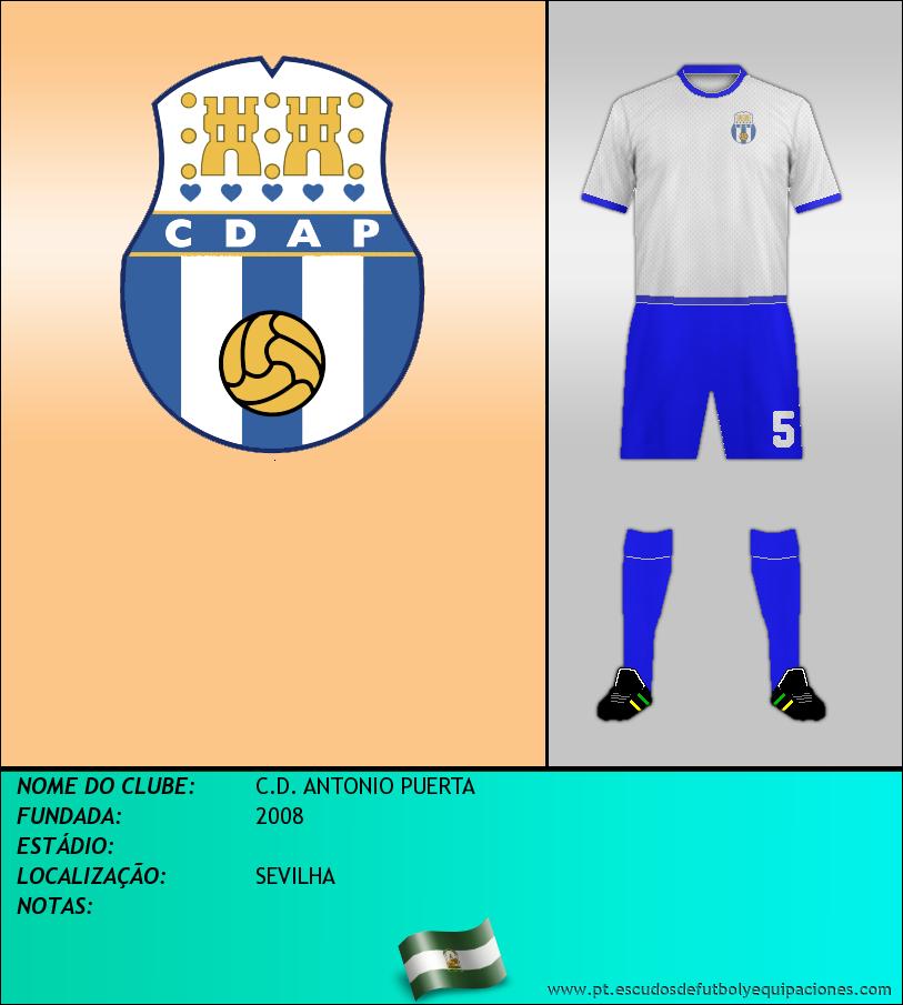 Escudo de C.D. ANTONIO PUERTA