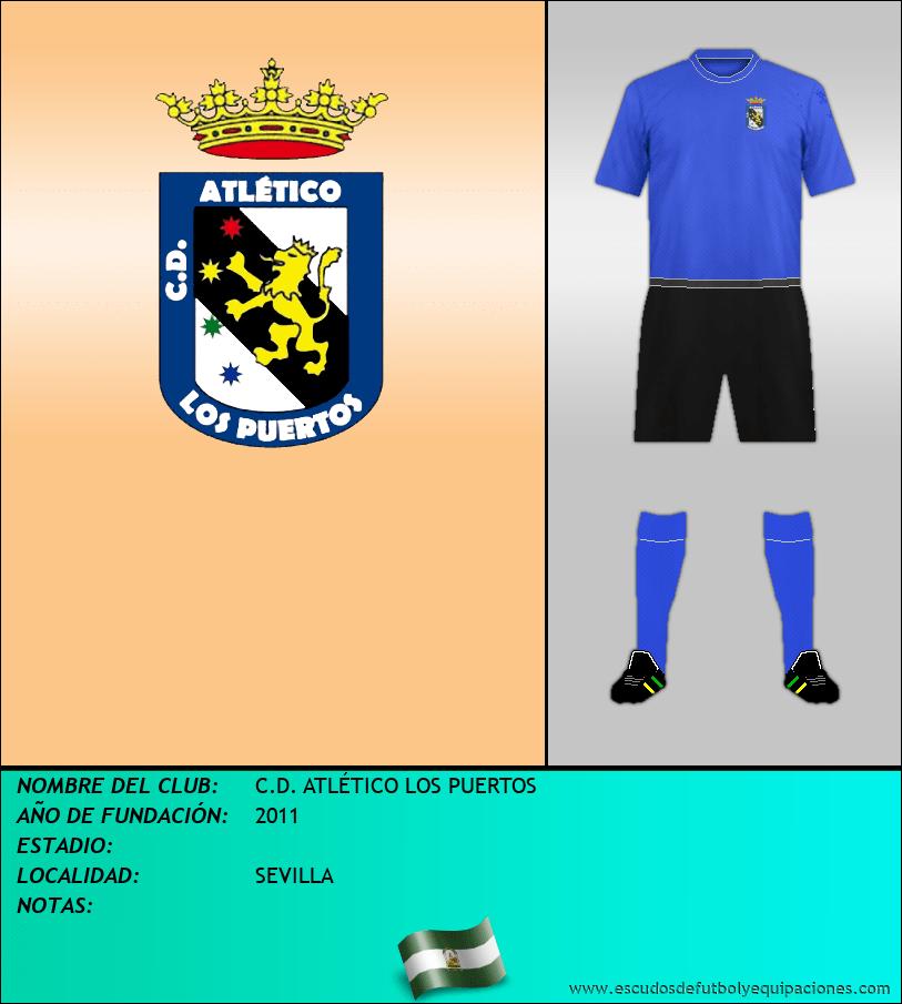 Escudo de C.D. ATLÉTICO LOS PUERTOS