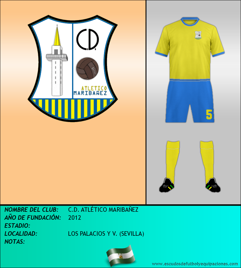 Escudo de C.D. ATLÉTICO MARIBAÑEZ