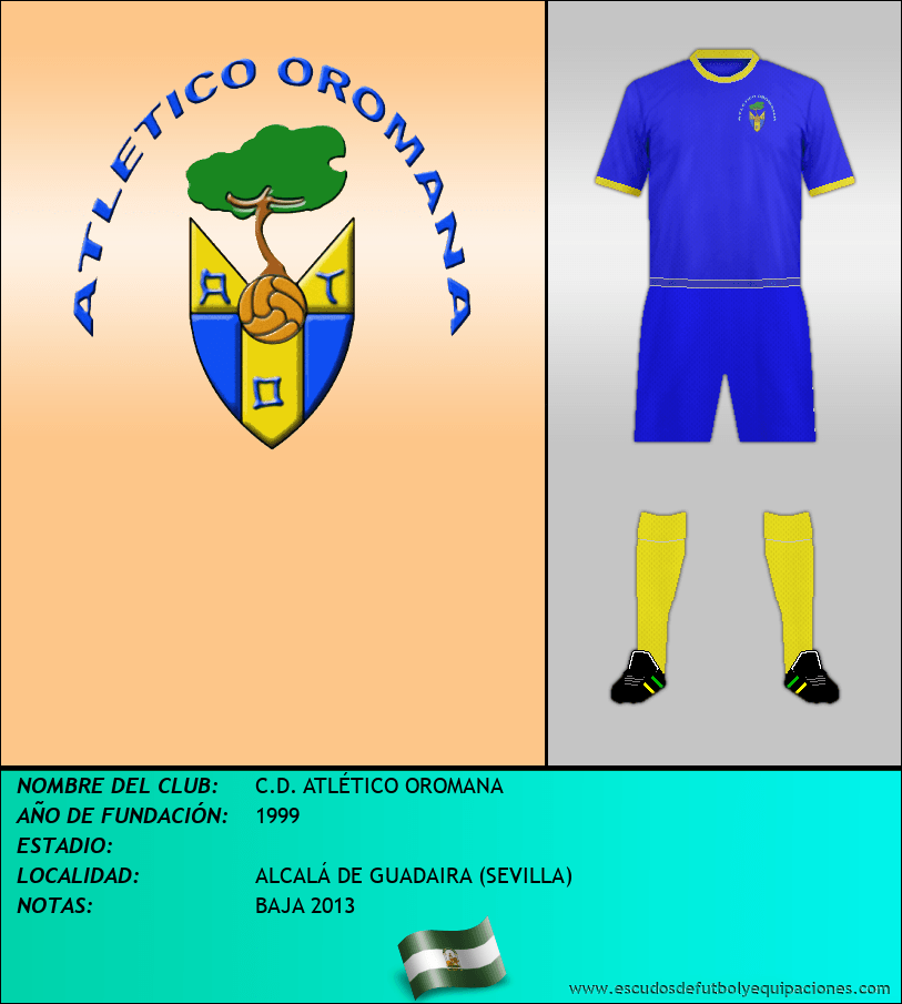 Escudo de C.D. ATLÉTICO OROMANA
