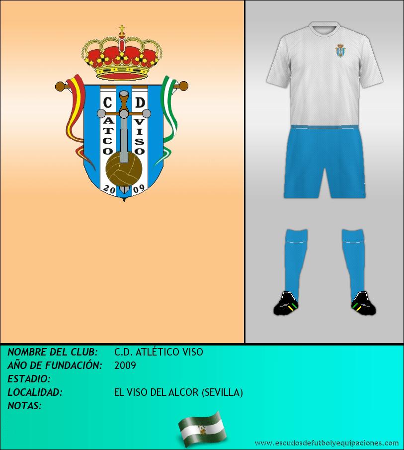 Escudo de C.D. ATLÉTICO VISO