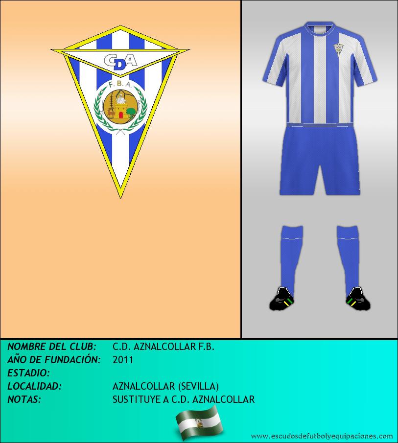 Escudo de C.D. AZNALCOLLAR F.B.