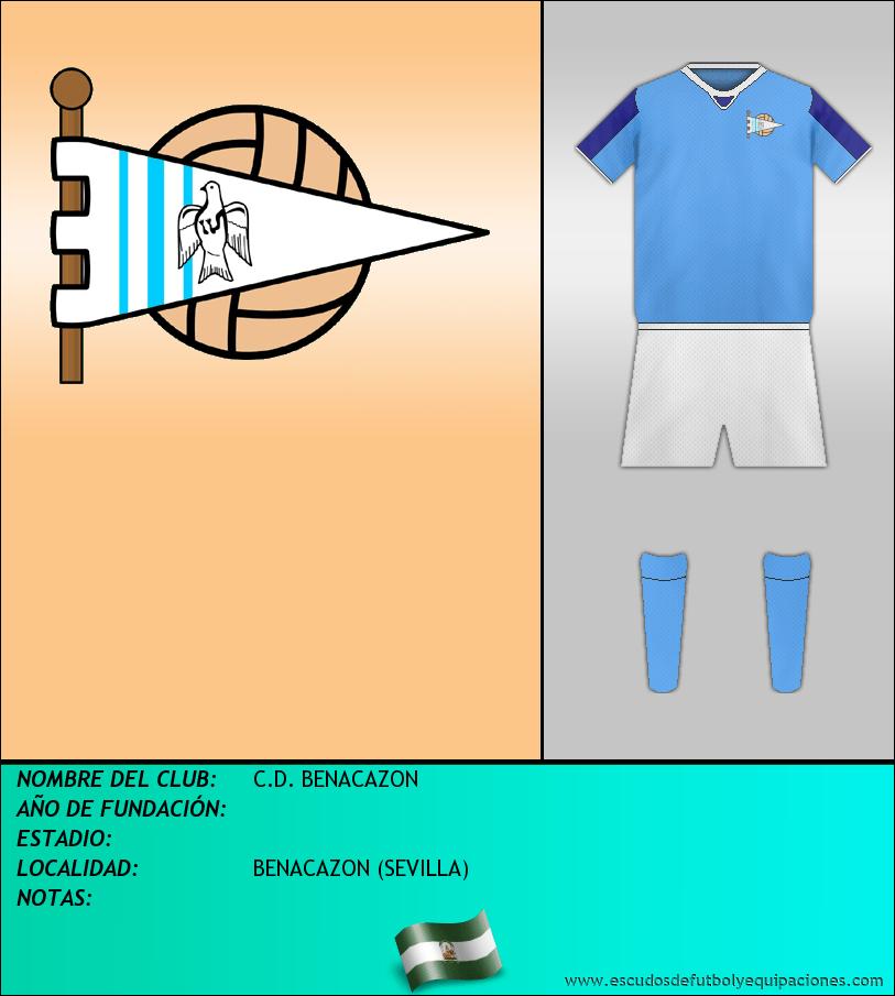Escudo de C.D. BENACAZON