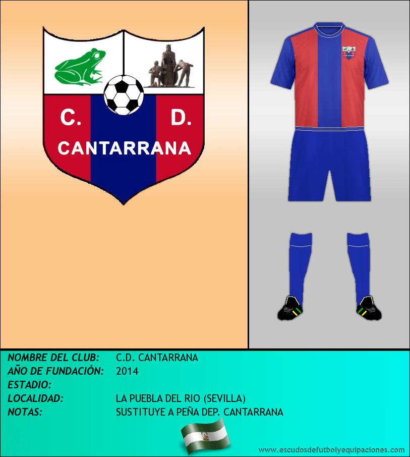 Escudo de C.D. CANTARRANA