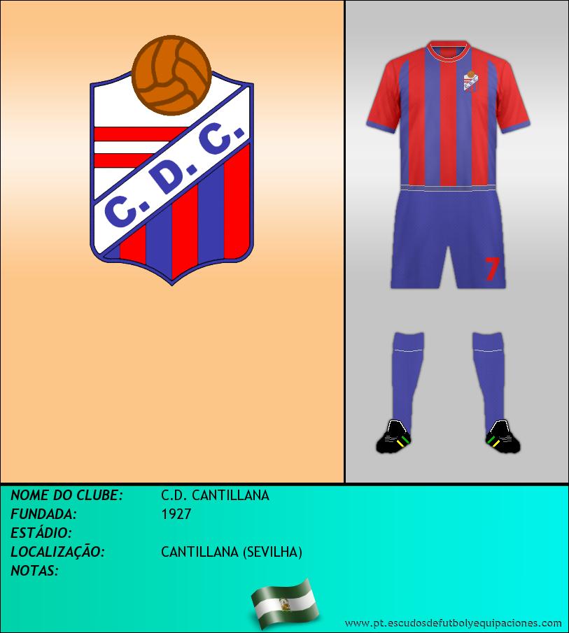 Escudo de C.D. CANTILLANA