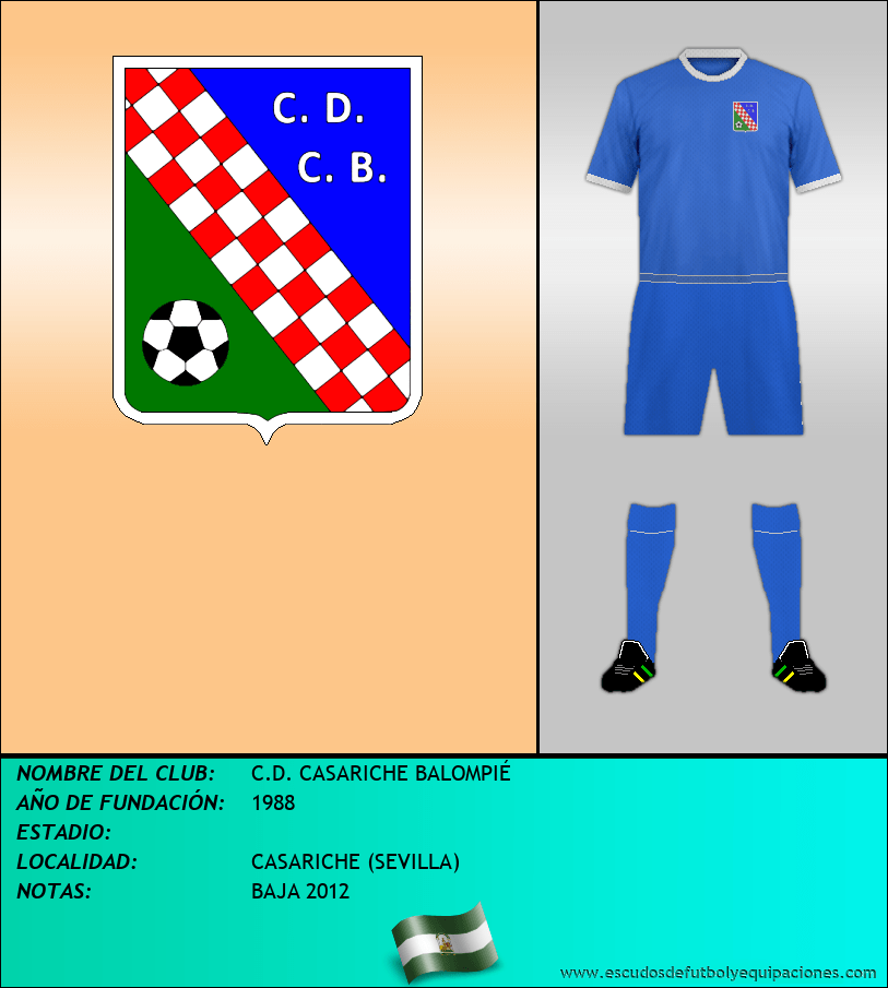 Escudo de C.D. CASARICHE BALOMPIÉ