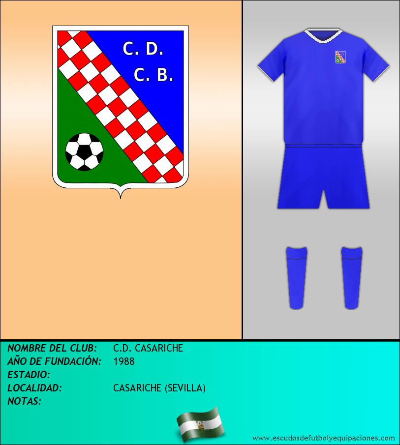 Escudo de C.D. CASARICHE