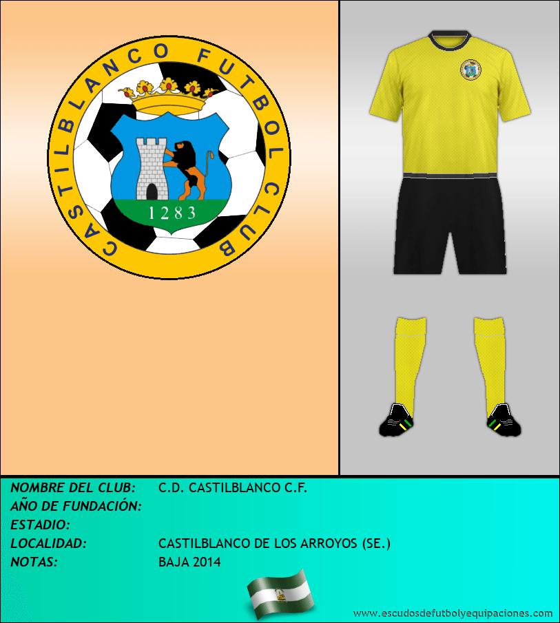 Escudo de C.D. CASTILBLANCO C.F.