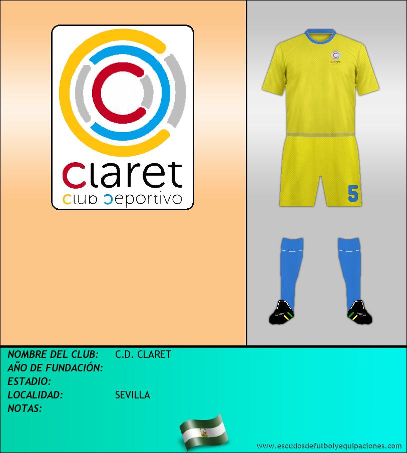 Escudo de C.D. CLARET