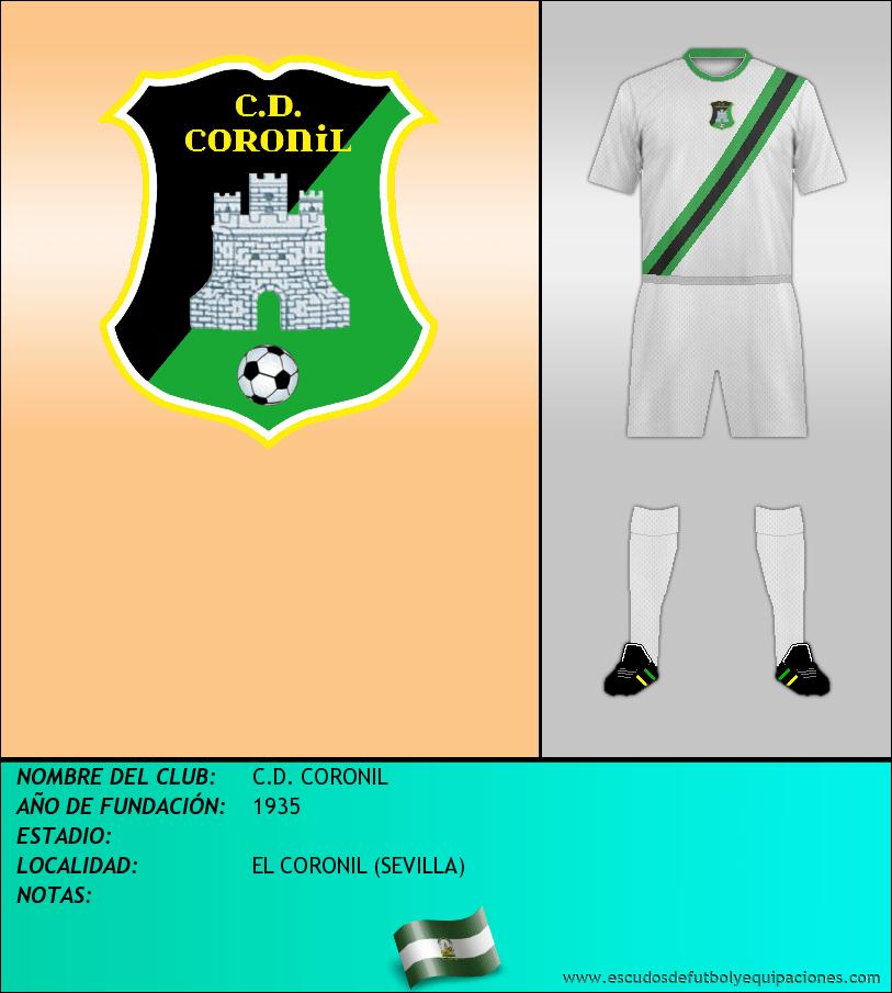 Escudo de C.D. CORONIL
