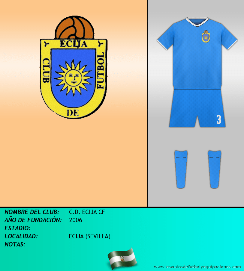 Escudo de C.D. ECIJA CF