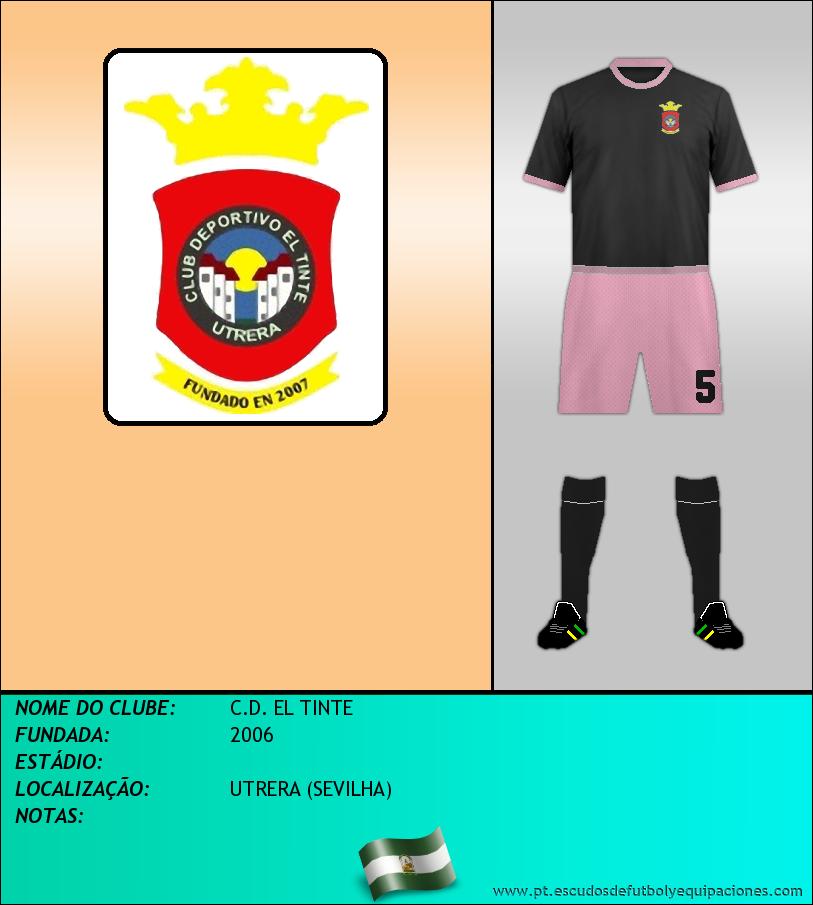 Escudo de C.D. EL TINTE