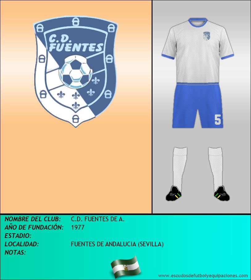 Escudo de C.D. FUENTES DE A.