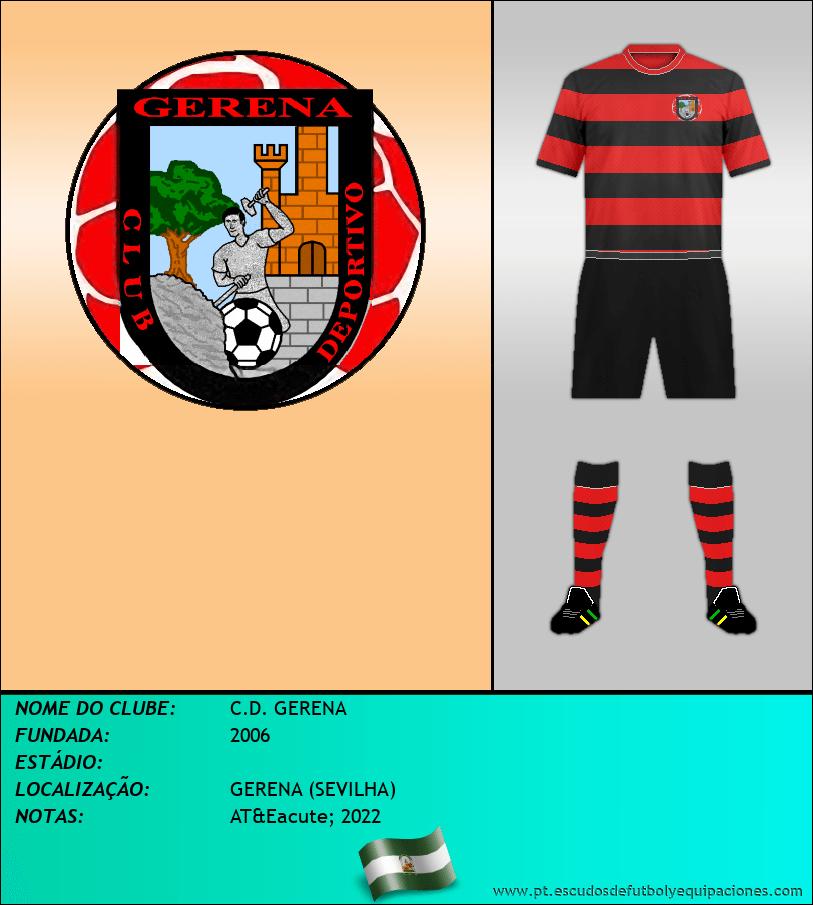 Escudo de C.D. GERENA