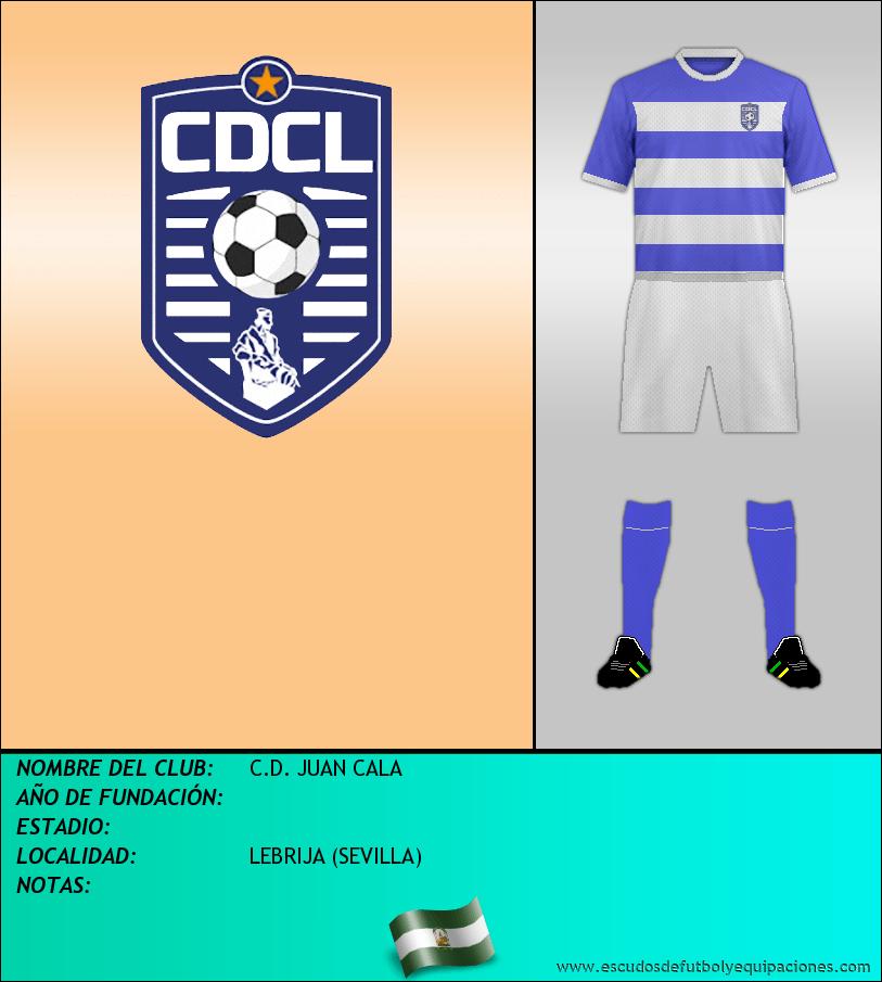 Escudo de C.D. JUAN CALA