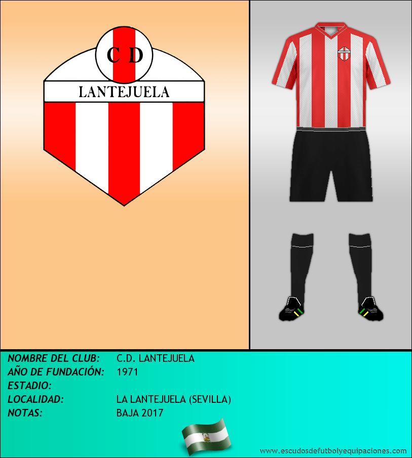 Escudo de C.D. LANTEJUELA