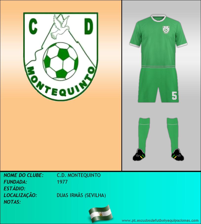 Escudo de C.D. MONTEQUINTO
