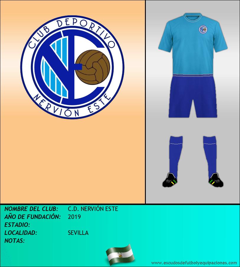 Escudo de C.D. NERVIÓN ESTE