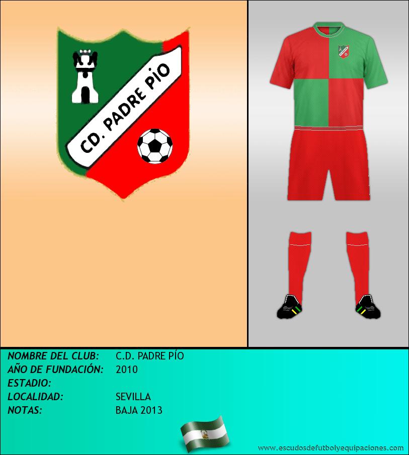 Escudo de C.D. PADRE PÍO