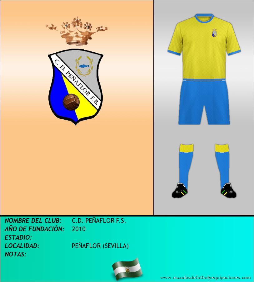 Escudo de C.D. PEÑAFLOR F.S.