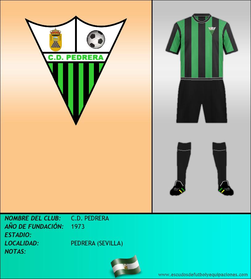Escudo de C.D. PEDRERA
