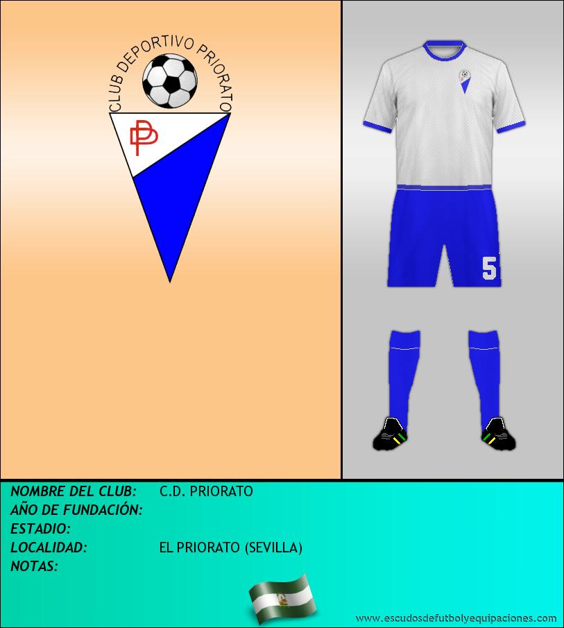 Escudo de C.D. PRIORATO