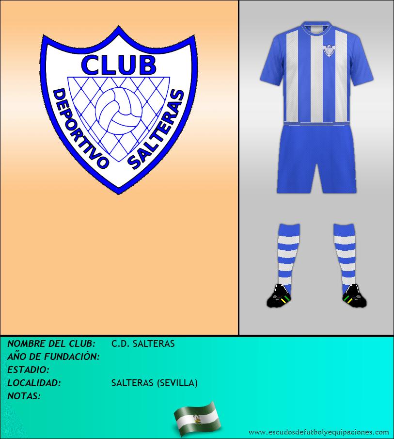 Escudo de C.D. SALTERAS