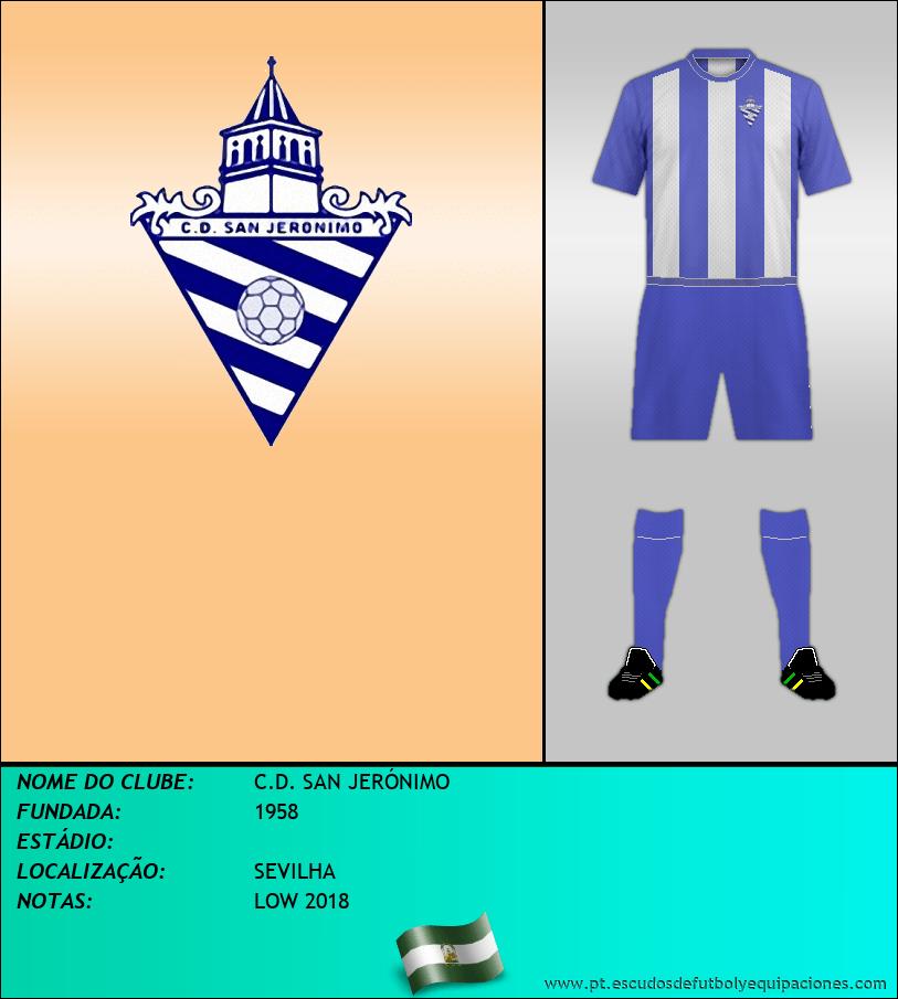 Escudo de C.D. SAN JERÓNIMO