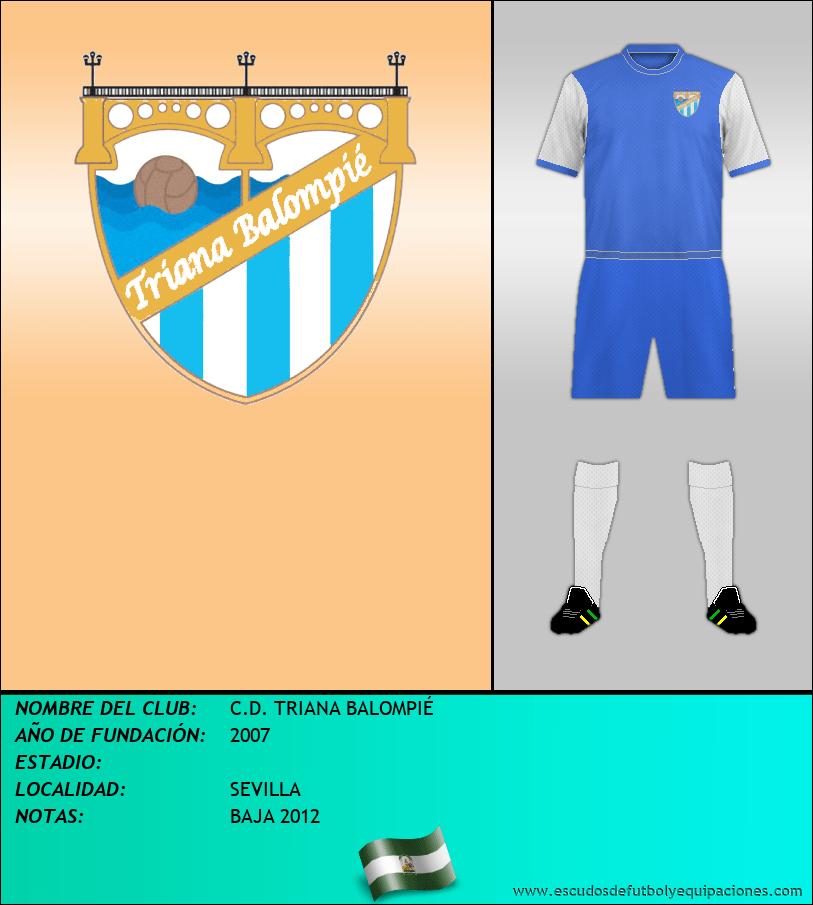 Escudo de C.D. TRIANA BALOMPIÉ