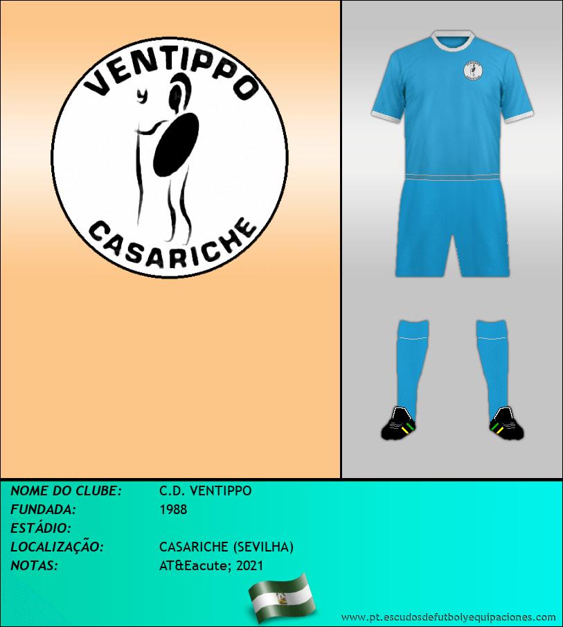 Escudo de C.D. VENTIPPO