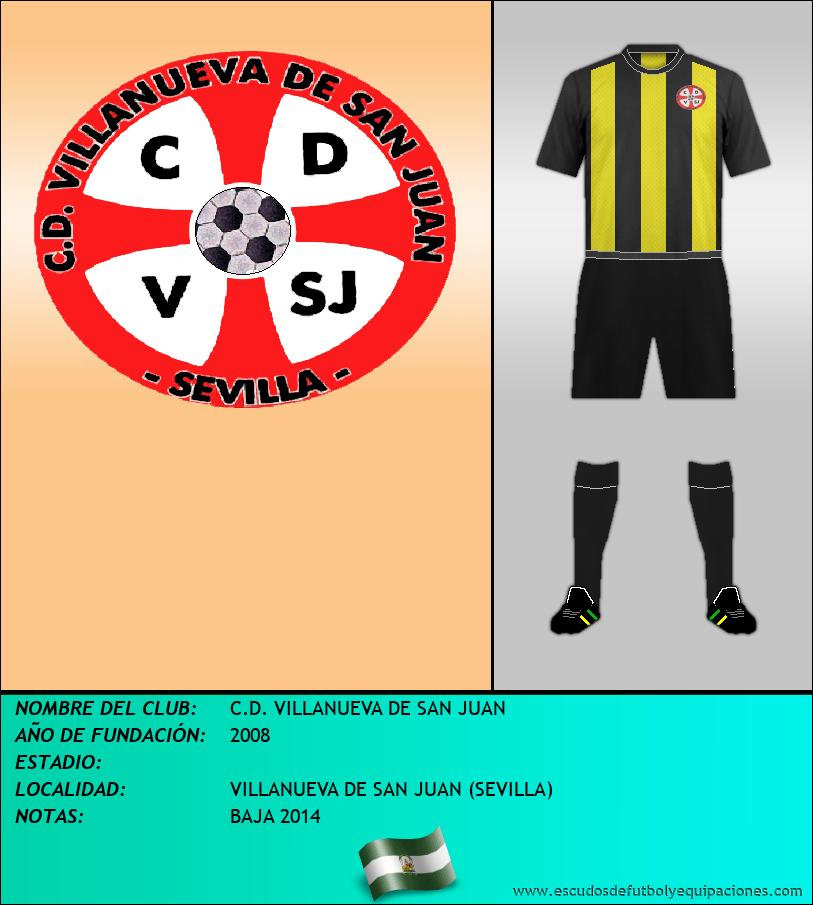 Escudo de C.D. VILLANUEVA DE SAN JUAN