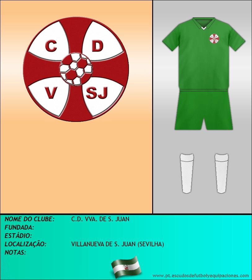 Escudo de C.D. VVA. DE S. JUAN