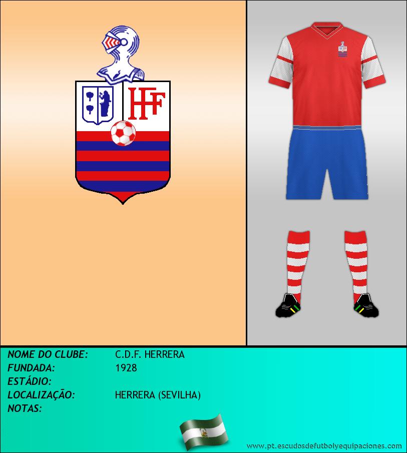 Escudo de C.D.F. HERRERA