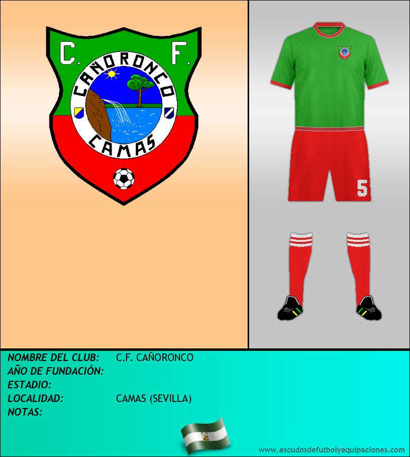 Escudo de C.F. CAÑORONCO