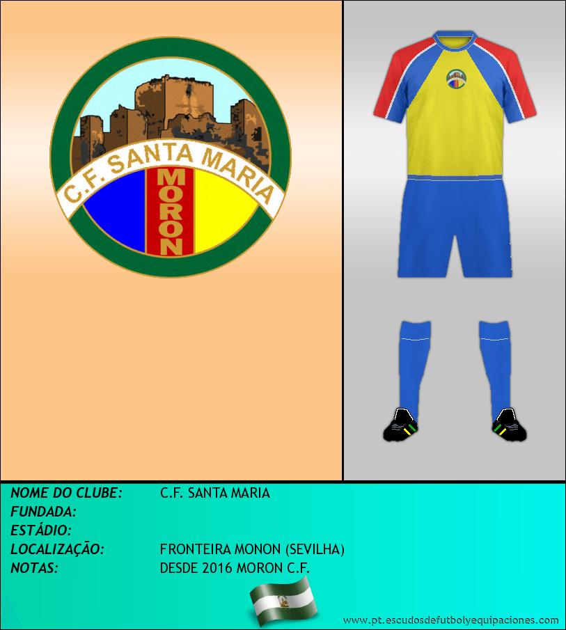 Escudo de C.F. SANTA MARIA