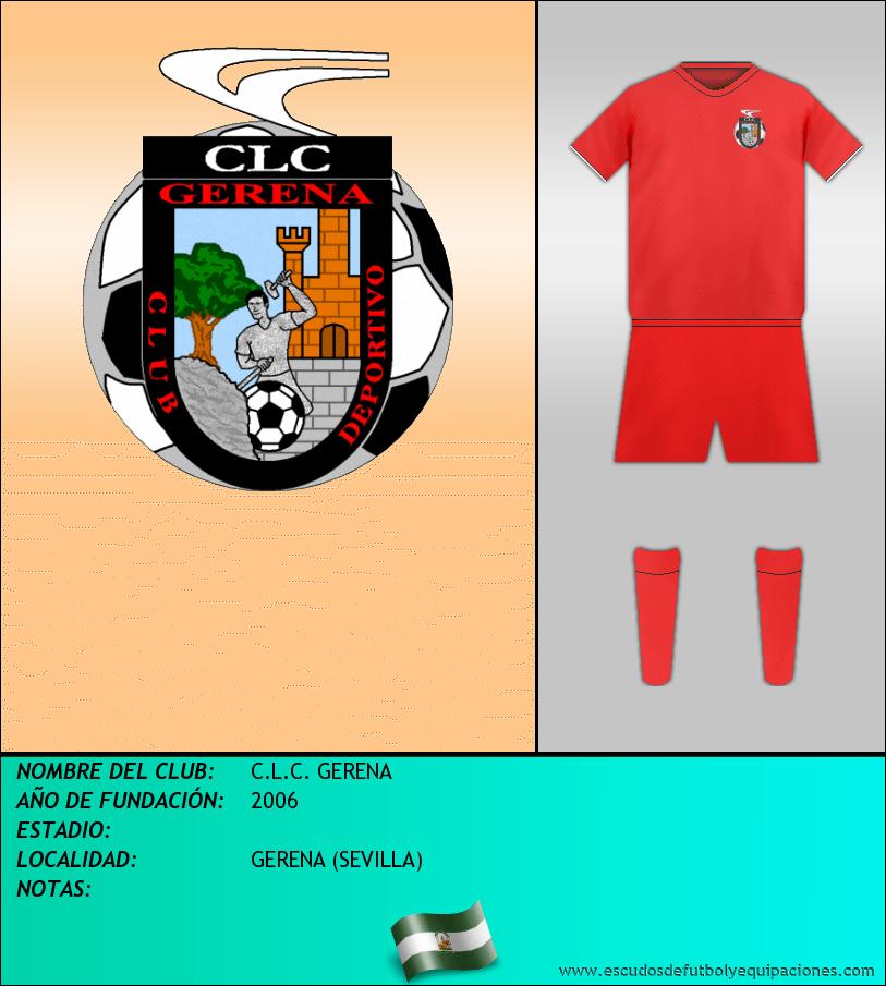 Escudo de C.L.C. GERENA