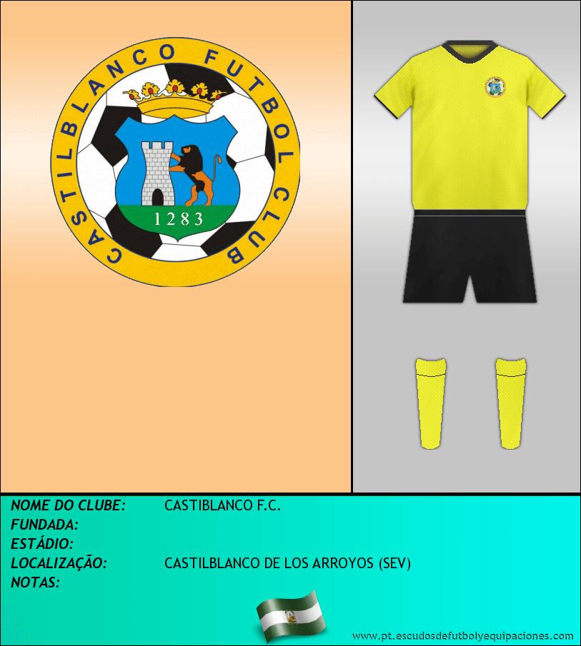 Escudo de CASTIBLANCO F.C.