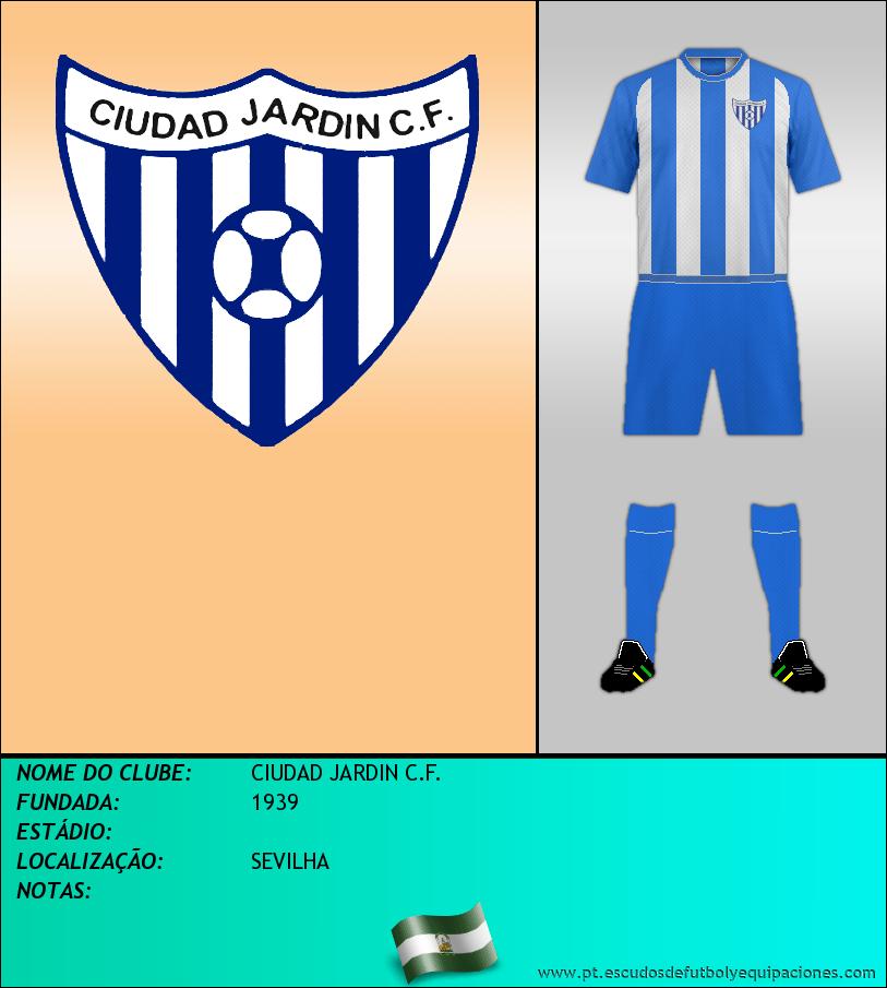 Escudo de CIUDAD JARDIN C.F.