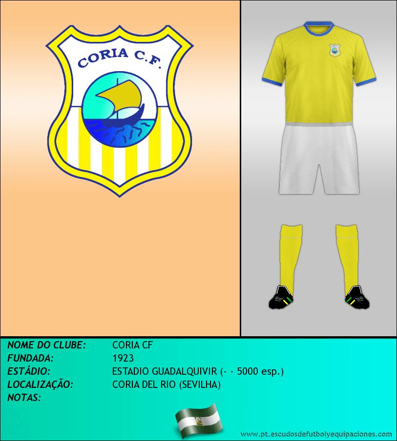 Escudo de CORIA CF