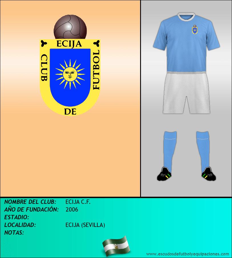 Escudo de ECIJA C.F.
