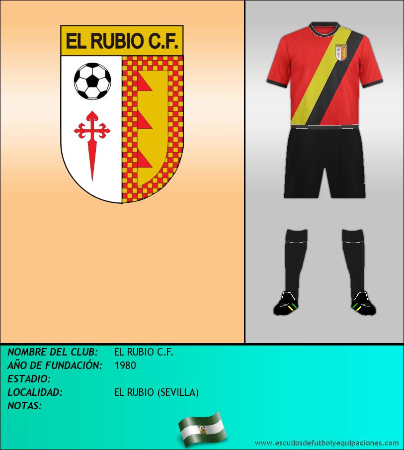 Escudo de EL RUBIO C.F.