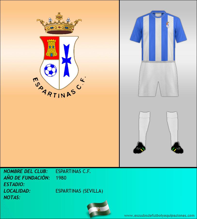 Escudo de ESPARTINAS C.F.