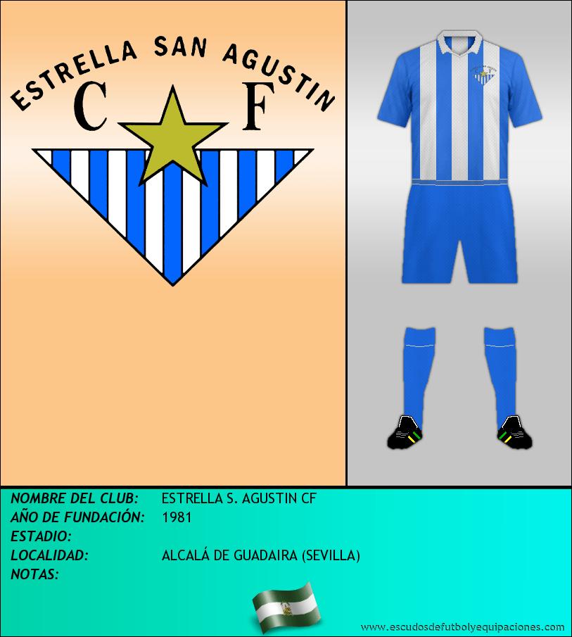 Escudo de ESTRELLA S. AGUSTIN CF