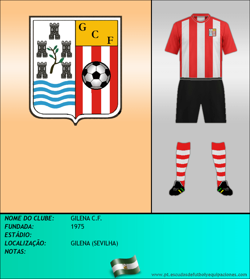 Escudo de GILENA C.F.